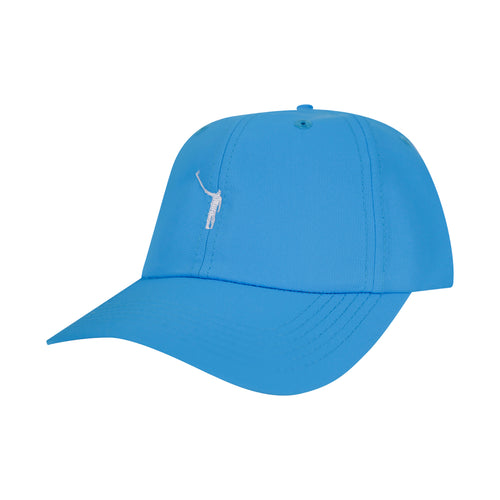 The No Laying Up Kids Hat | Pacific Blue w/ White Logo