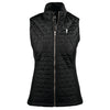 NLU Ladies Quilted Vest | Black