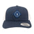 NLU Diamond Patch Hat | Navy & White