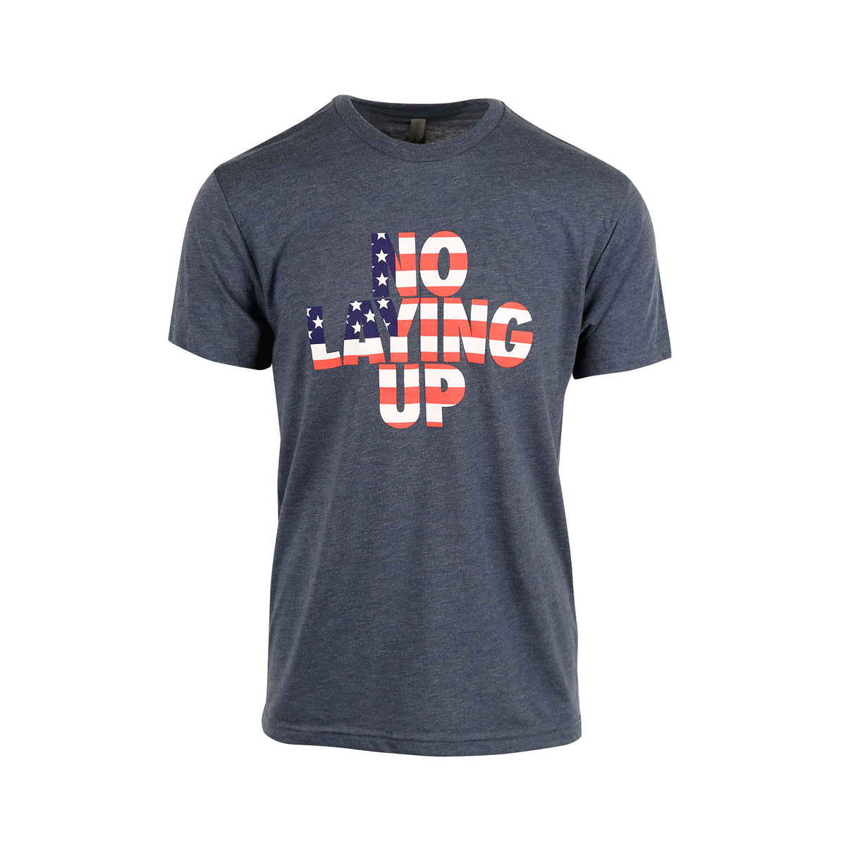 Team USA Flag T-Shirt - Heather Blue