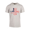 Team USA Flag T-shirt - Heather Gray