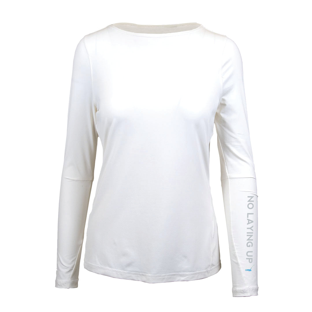 NLU Ladies Technical Long Sleeve | White