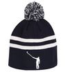 No Laying Up Beanie | Navy & White