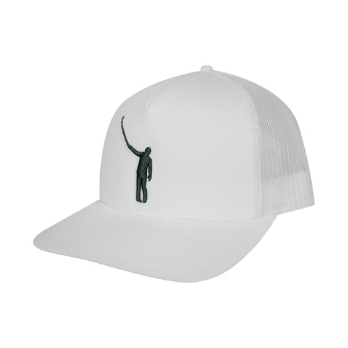 The Wayward Puff Hat | White with Green Logo