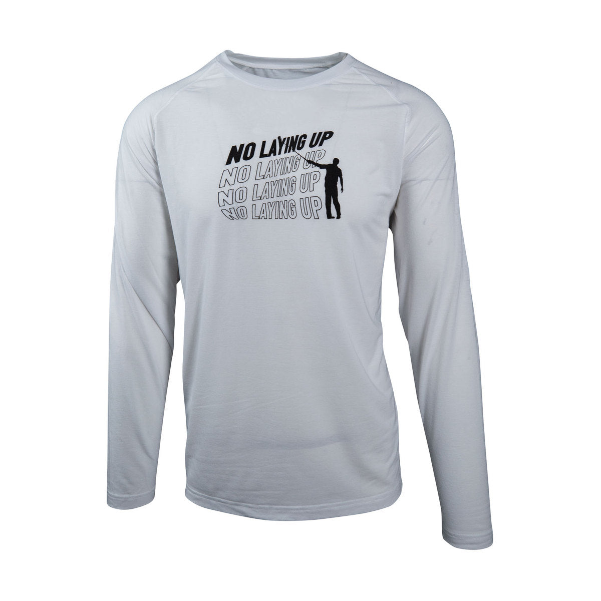 NLU Scroll Logo Long Sleeve | White