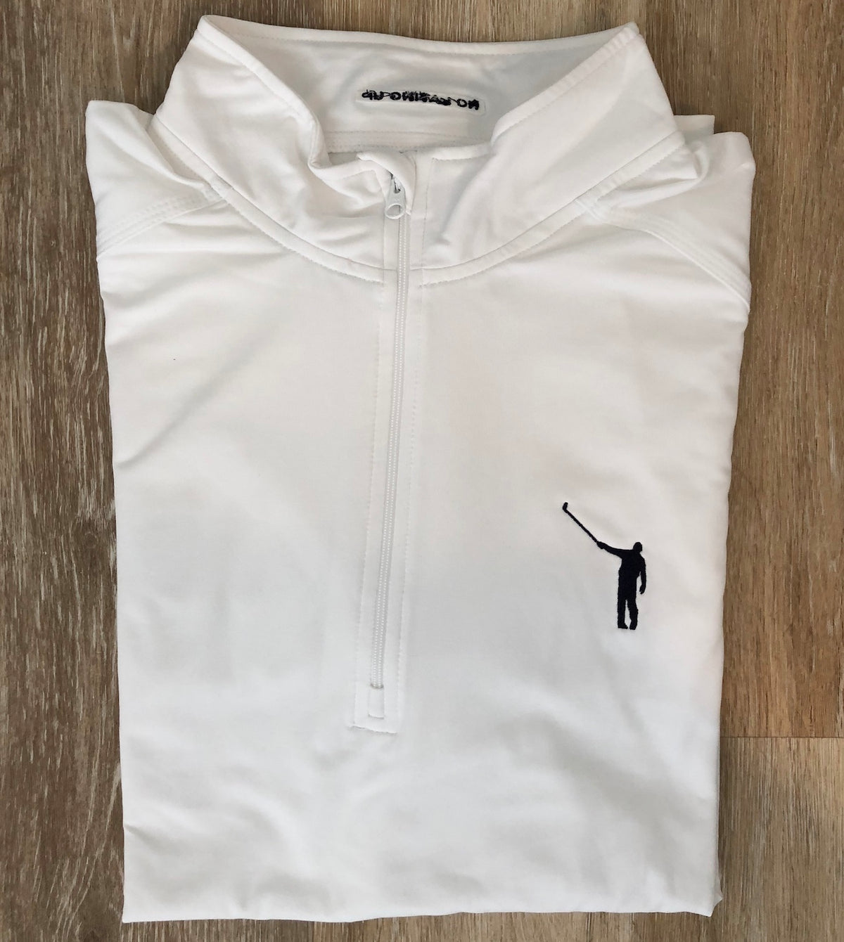 NLU Performance Pullover | White