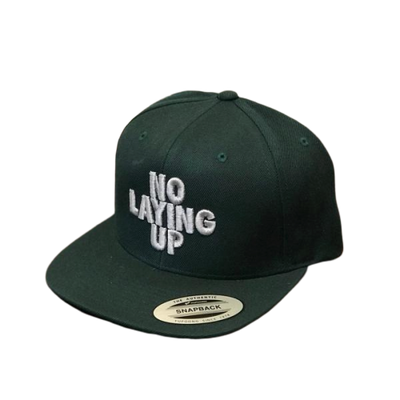 NLU Hat | Green & Silver