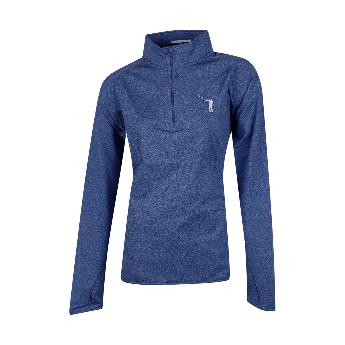 NLU Ladies Performance Pullover | Heather Blue