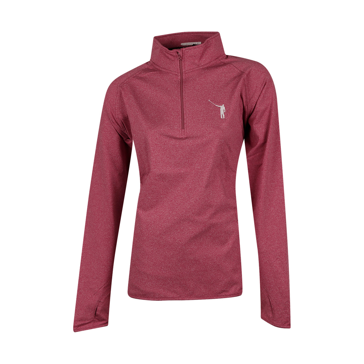 NLU Ladies Performance Pullover | Heather Pink (2XL left)