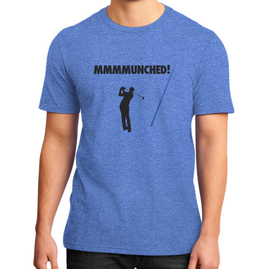 Munched T- Shirt Heather blue No Laying Up