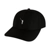 The No Laying Up Hat | Black w/ White Logo