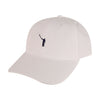 The No Laying Up Hat | White w/ Navy Logo