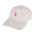 The No Laying Up Hat | White w/ Red Logo