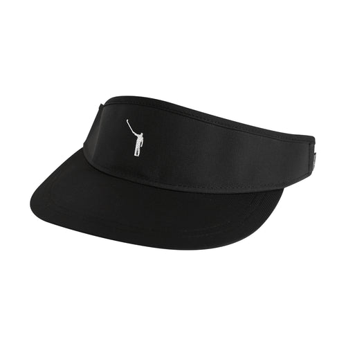 NLU Performance Visor - Black w/ White Logo