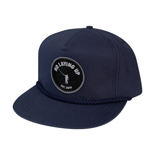 NLU Patch Hat | Retro Rope Hat | Navy
