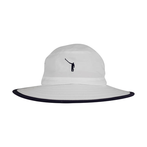 The NLU Mega-Bucket | White w/ Navy Logo