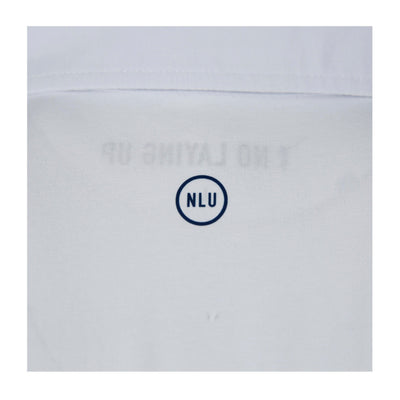 The NLU Pocket Polo | White