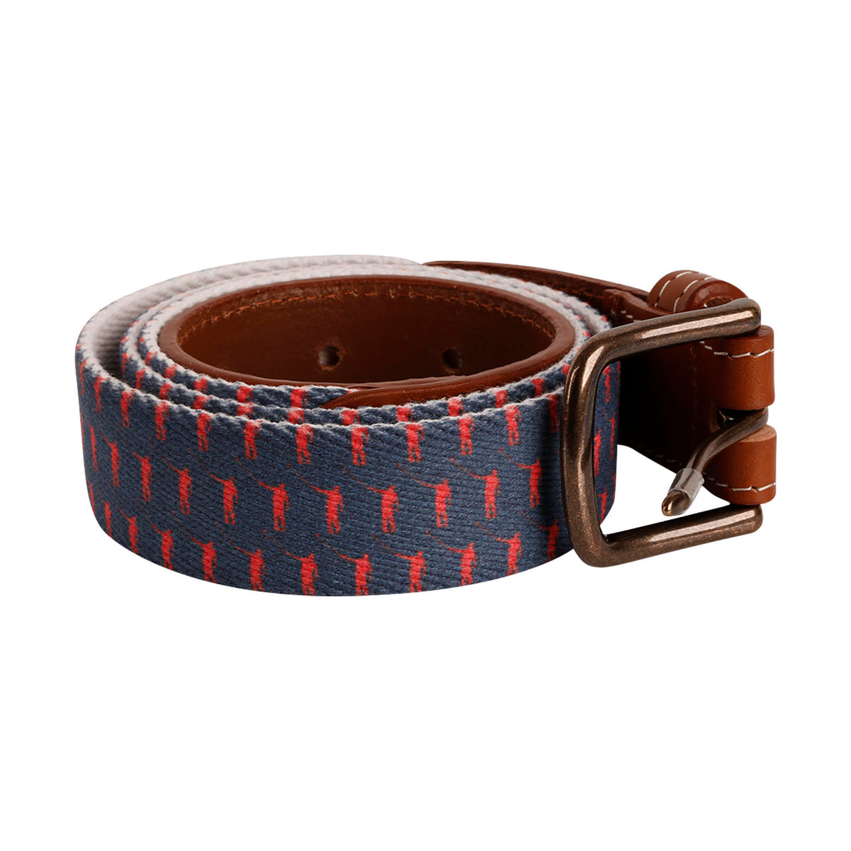 NLU Belt | Navy & Red