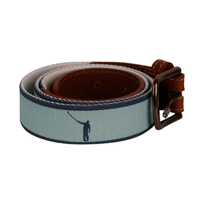 NLU Belt | Aqua & Navy