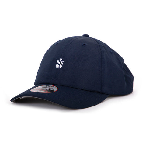 XL Performance Hat | Navy w/ White Crest Logo