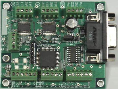 AR-BC2D20ERS232 series RS232 Dual 0.15 to 2 Amp Current Regulating Stepper Motor Controller