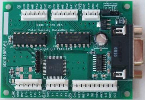 AR-BS1010ERS series RS232 Dual 1.0 Amp Stepper Motor Controller (not current regulating)