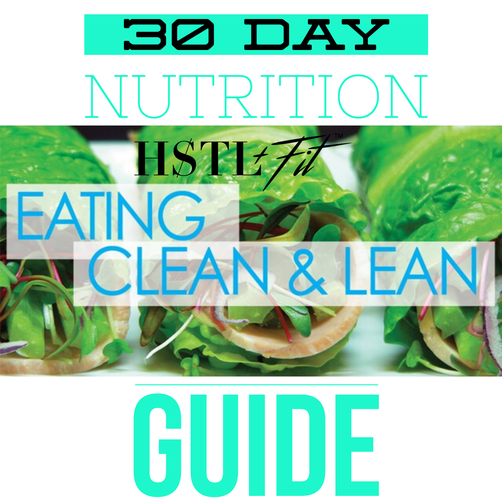 30 Day Nutrition Guide/Meal Planner/Diet Plans - FlyFitRich