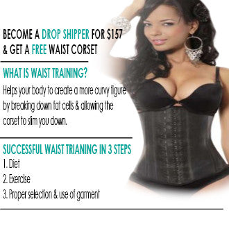 BYOB Drop Shipping Package - Wholesale Waist trainers - FlyFitRich