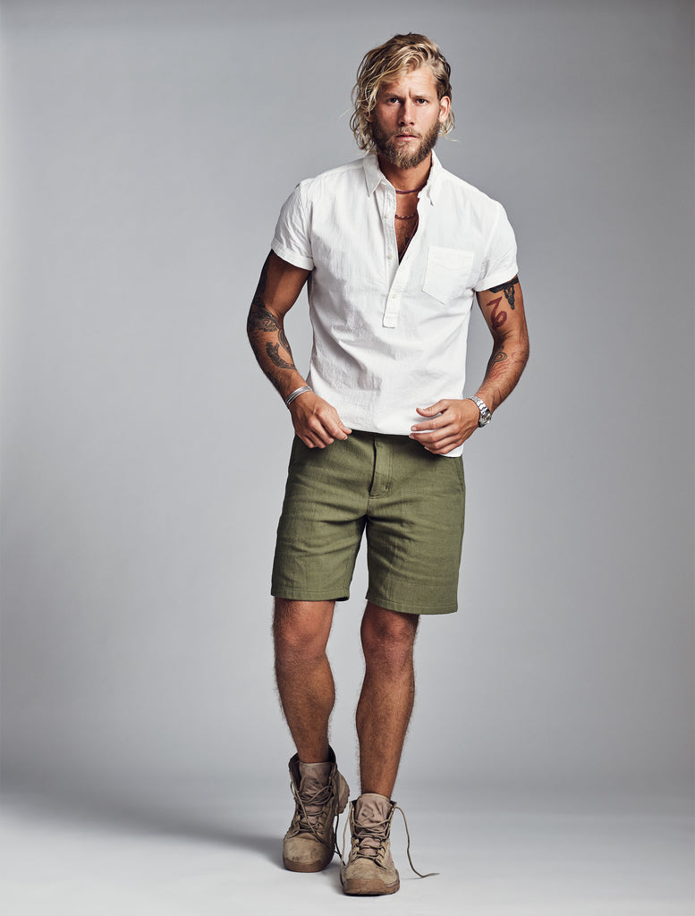 Conrad Lightweight Short Sleeve Popover