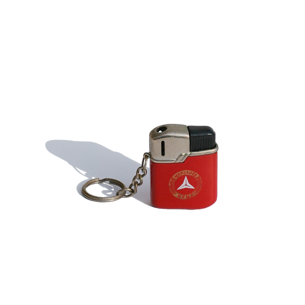 Red Mercedes Benz Keychain Lighter