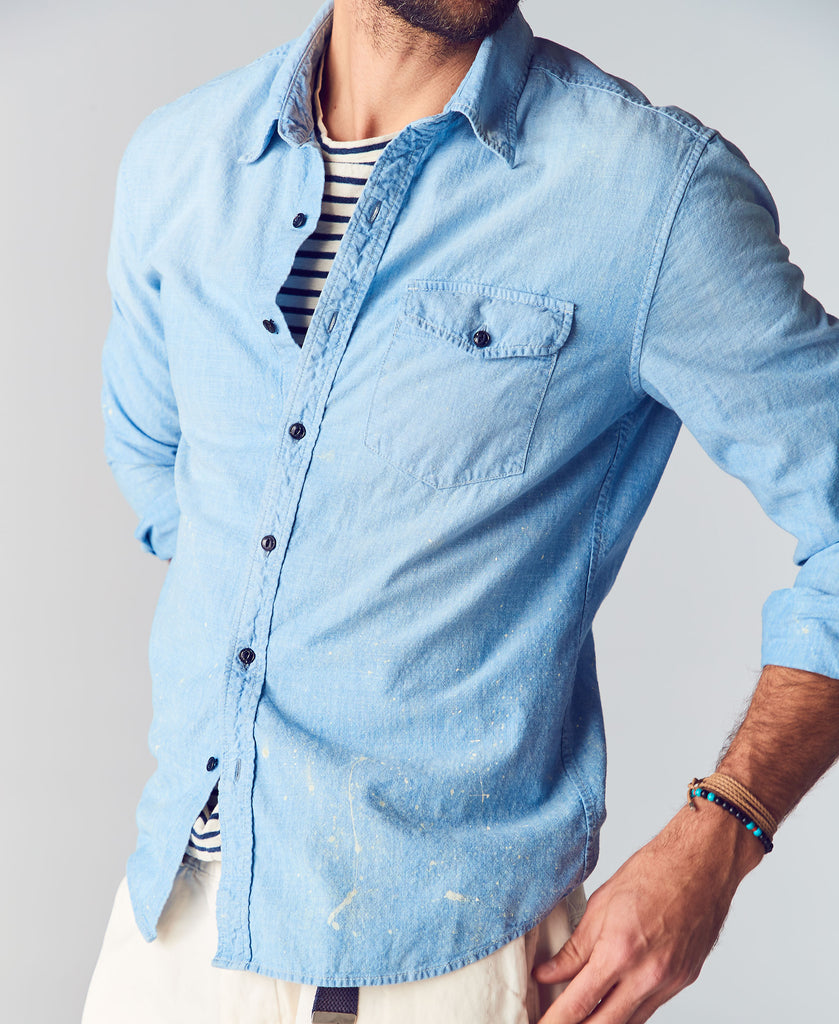 Pablo Chambray Studio Shirt