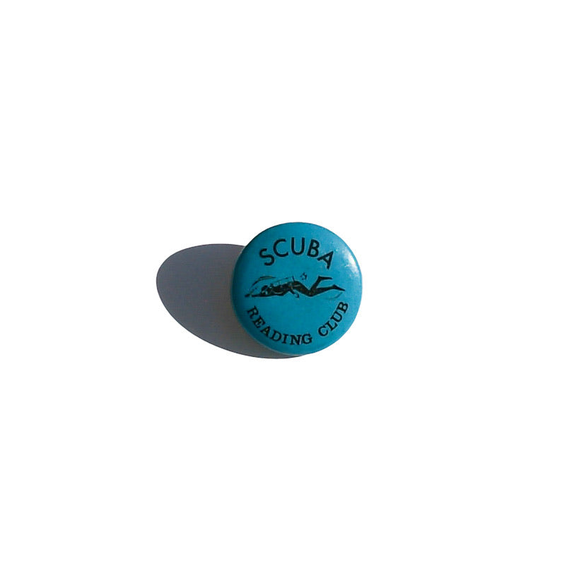 Scuba Reading Club Pin
