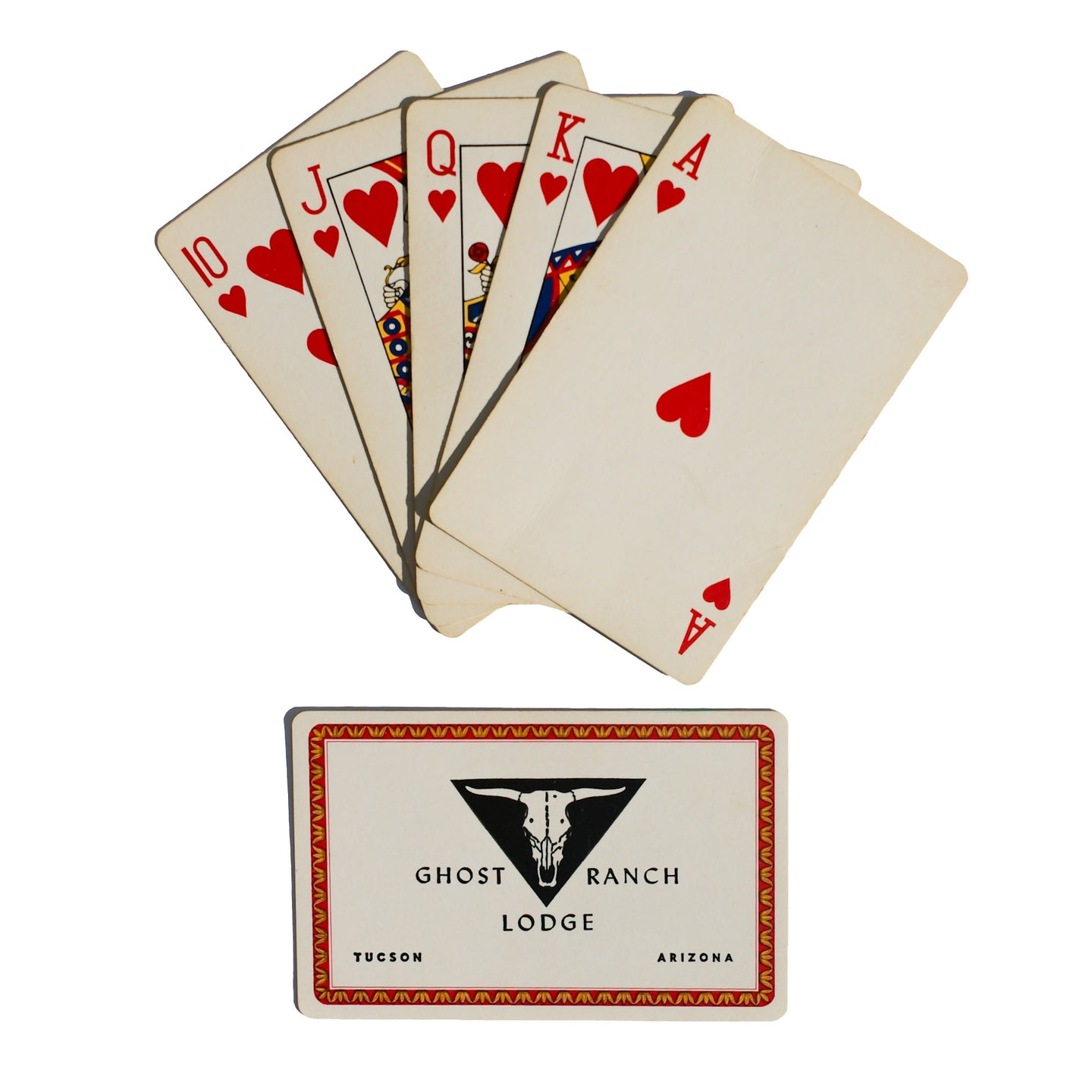 Ghost Ranch Playing Cards