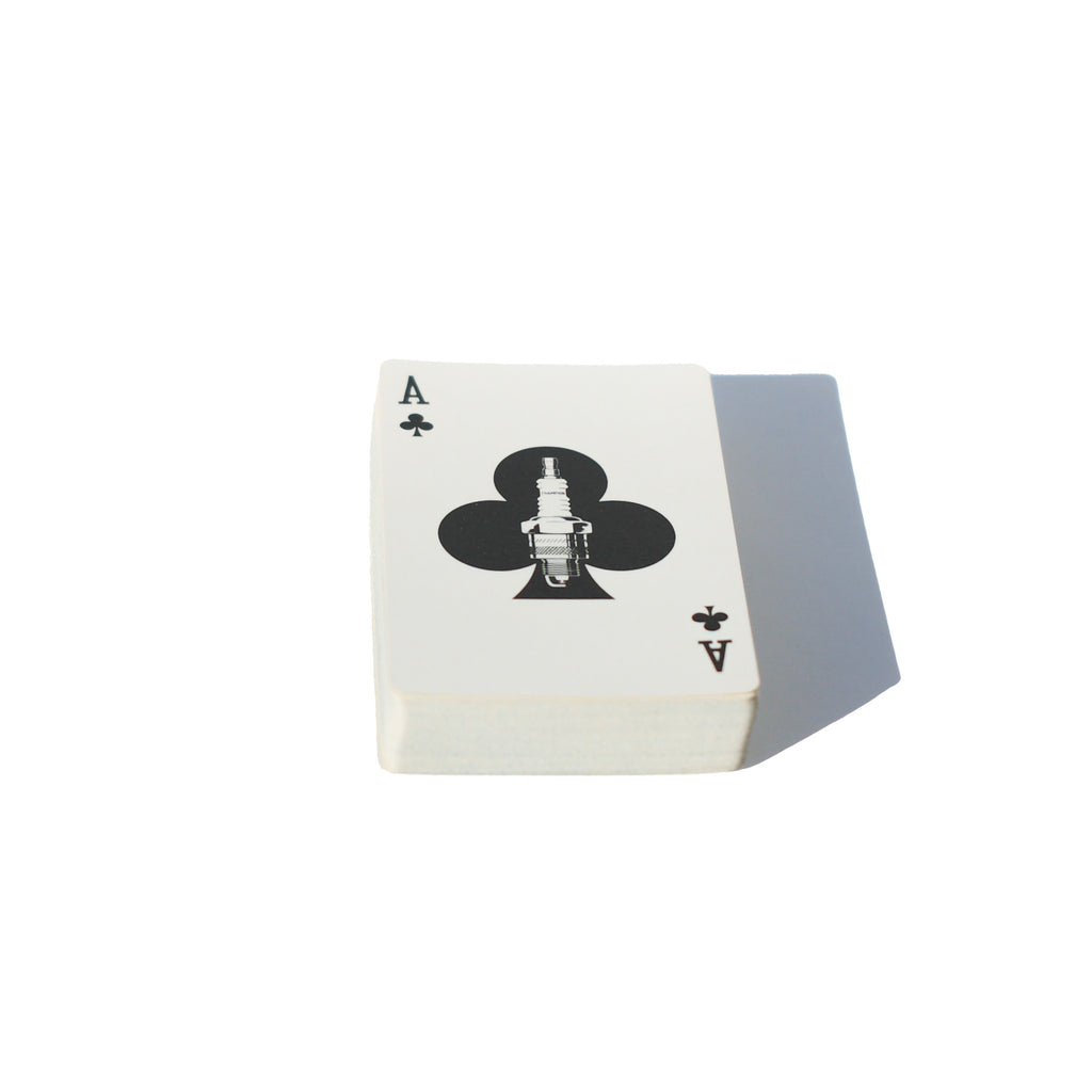 Champion Spark Plug Playing Cards