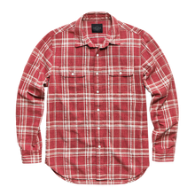 Load image into Gallery viewer, Grant Hemp Cotton Plaid Shirt
