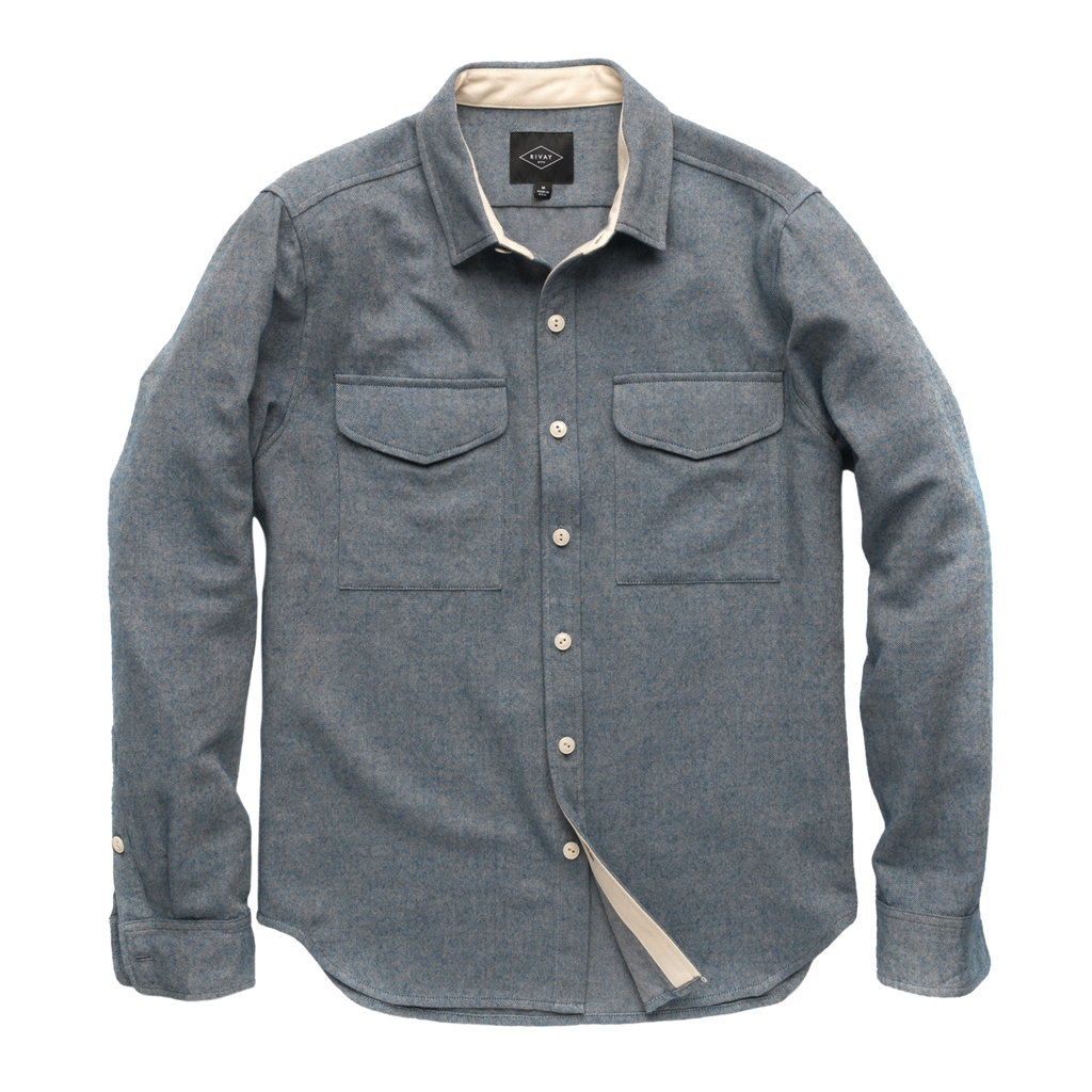 Kingston Cotton Wool Overshirt