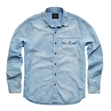 Load image into Gallery viewer, Pablo Chambray Studio Shirt