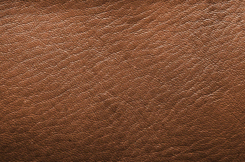 This is distressed leather – Can you see the variety in the leather's texture?