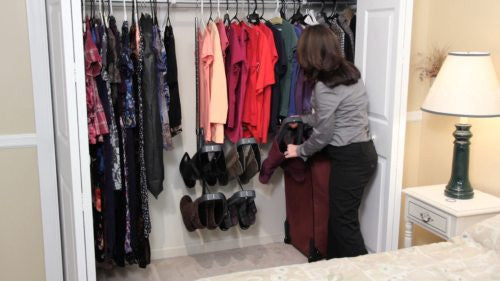 Your Boot Butlers modular design allows it to adapt to fit in virtually any closet (1 of 2)