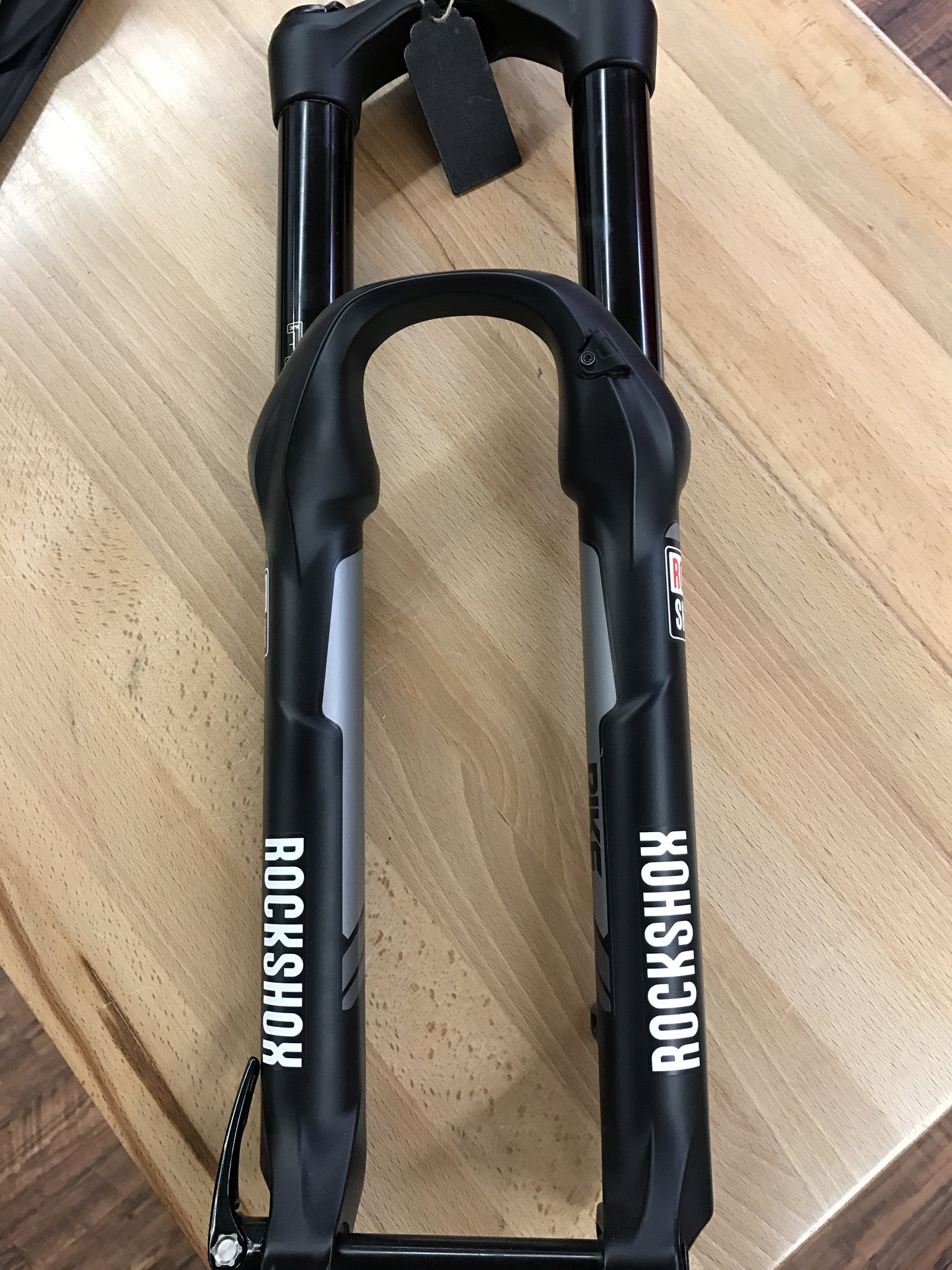 "RockShox PIKE 26"" 160mm Solo Air ** CUT taper steer"