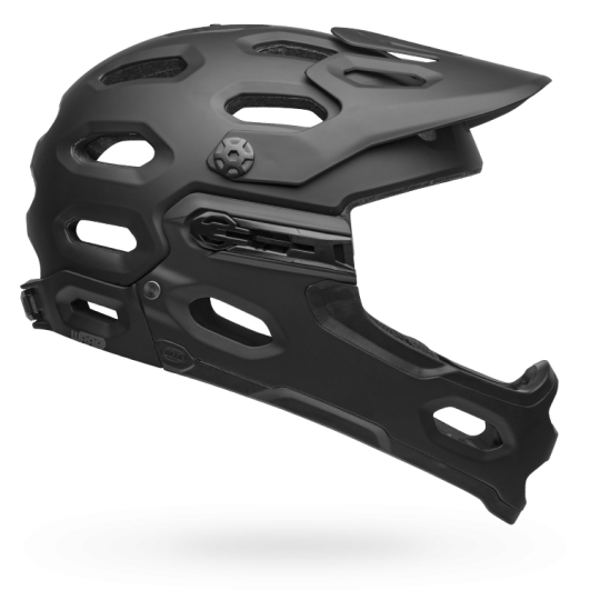 Bell Super 3R All-Mountain Helmet with Removable Jaw