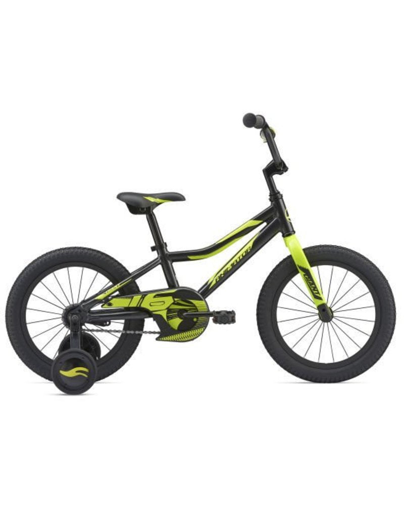 "Giant Animator 16"" wheels BOYS Black"