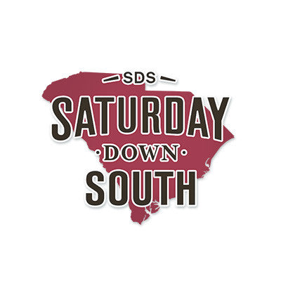 Garnet Collection - SC State Decal