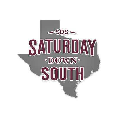College Station, TX - State Decal
