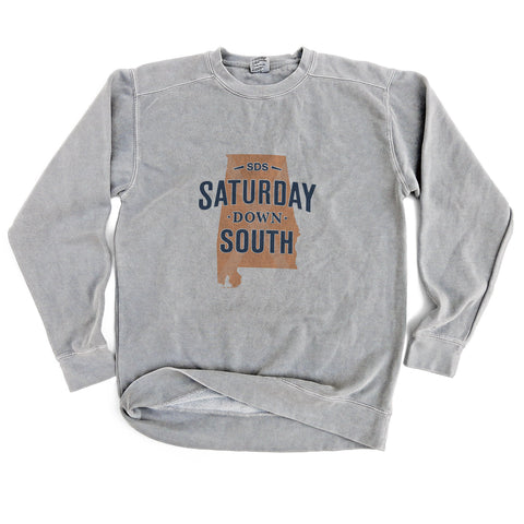 Orange and Blue Collection - Auburn, AL - State of Mind Long Sleeve Comfort Fleece