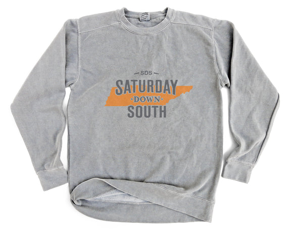 Orange and White Collection - Knoxville, TN - State of Mind Long Sleeve Comfort Fleece