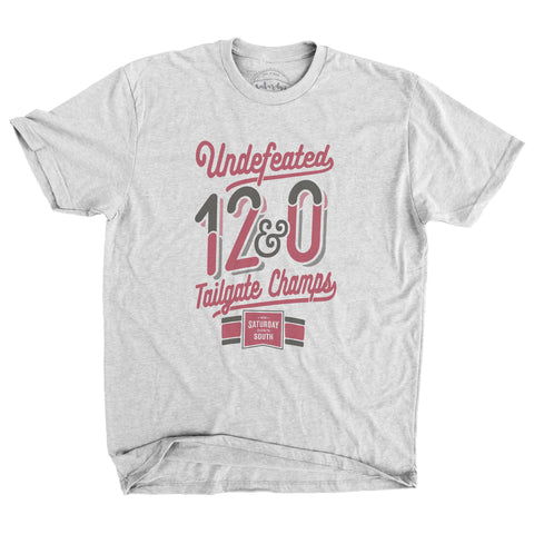 SDS Red / Black Collection - Tailgate Champs Vintage Tee