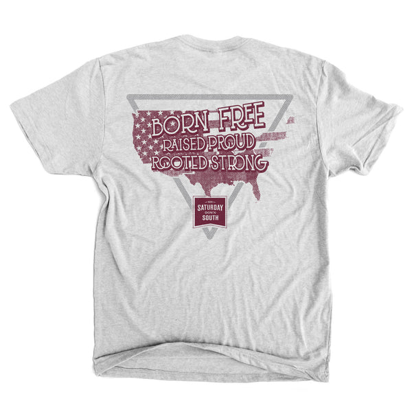 Maroon Collection - South America Short Sleeve Vintage T-shirt