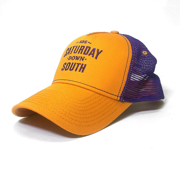 Orange and Purple Collection - SDS Logo Southern Trucker Hat