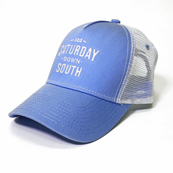 Blue Collection - Light Blue SDS Logo Southern Trucker Hat